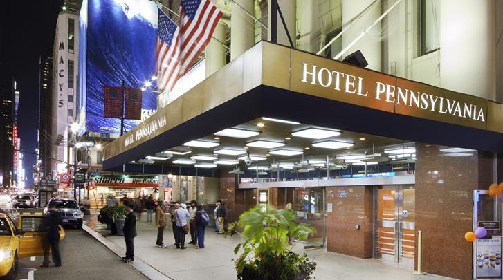 New York, Hotel Pennsylvania, Façade hotel