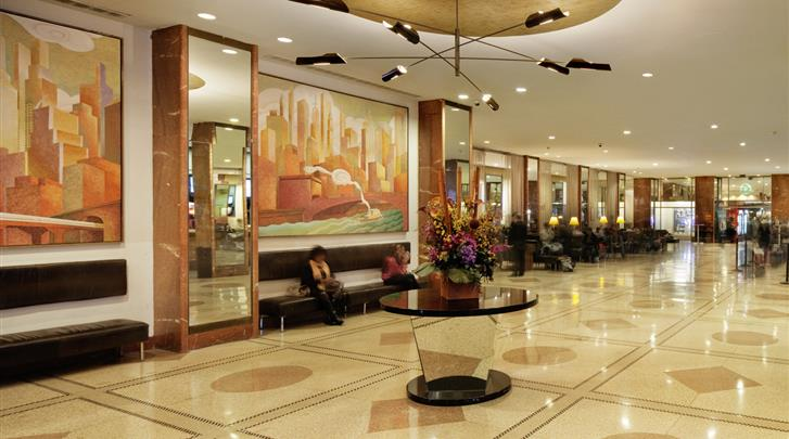 New York, Hotel Pennsylvania, Lobby