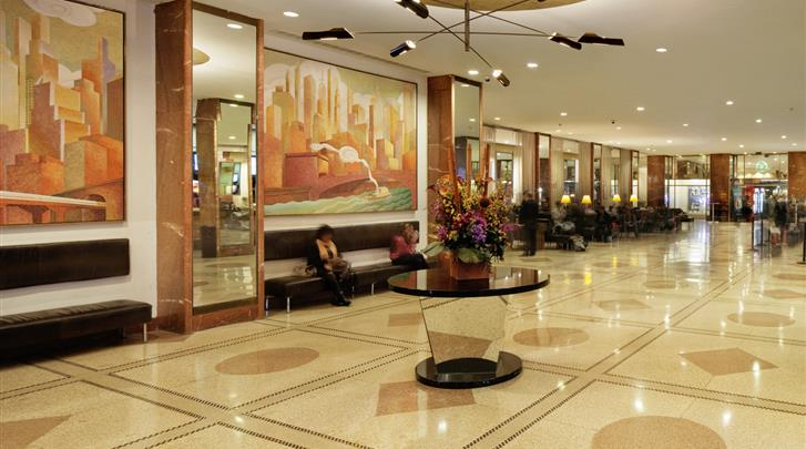 New York, Hotel Pennsylvania , Lobby