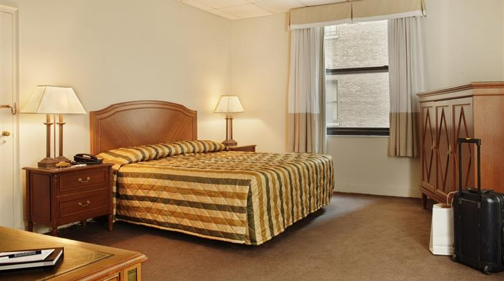 New York, Hotel Pennsylvania , Standaard kamer
