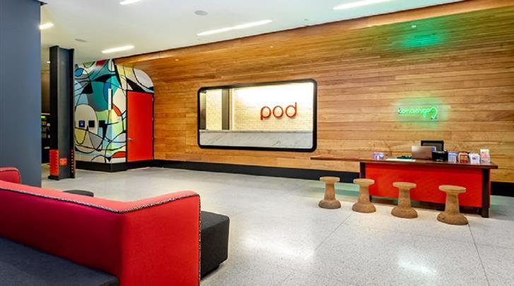 New York, Hotel Pod 39, Lobby