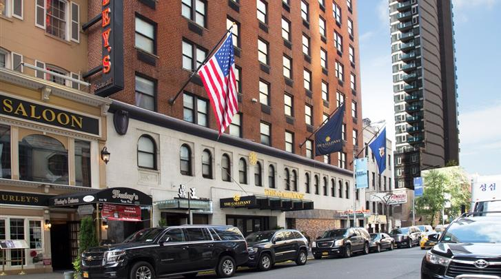 New York, Hotel The Gallivant Times Square, Façade hotel