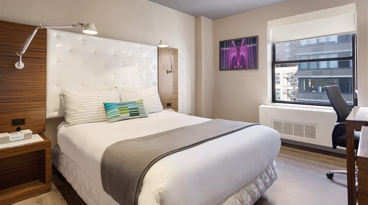 New York, Hotel The Gallivant Times Square, Kamervoorbeeld