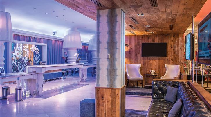 New York, Hotel The Gallivant Times Square, Lobby