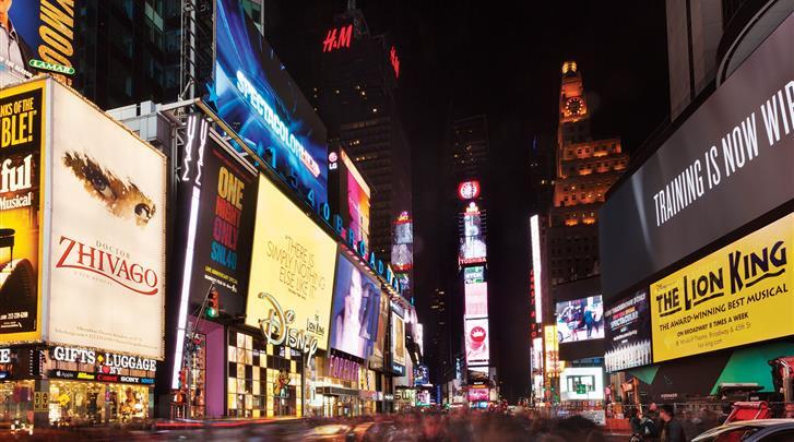 New York, Hotel The Gallivant Times Square, Times Square om de hoek!