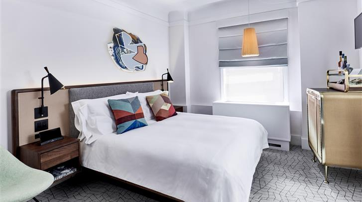 New York, Hotel The James New York NoMad, Guestroom
