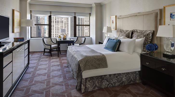 New York, Hotel The Lotte New York Palace, Cathedral View Kamer