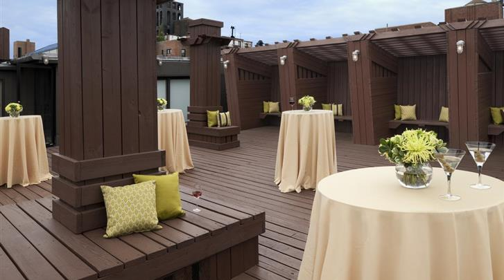 New York, Hotel The Lucerne, Patio
