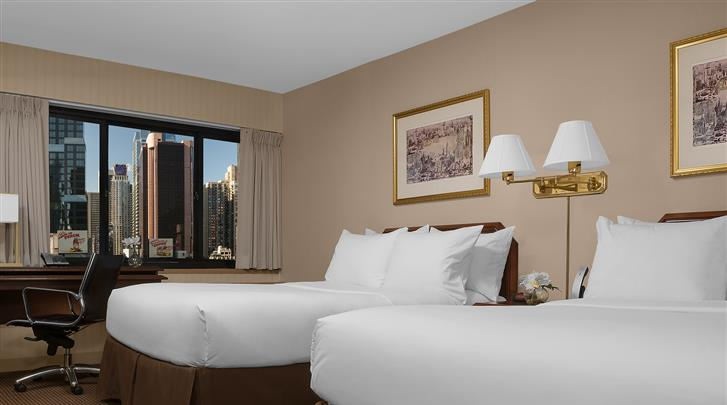 New York, Hotel The Manhattan at Times Square, Standaard kamer