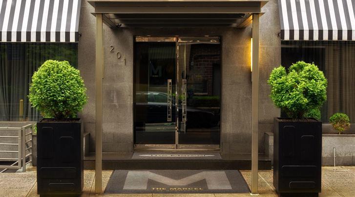 New York, Hotel The Marcel at Gramercy, Façade hotel