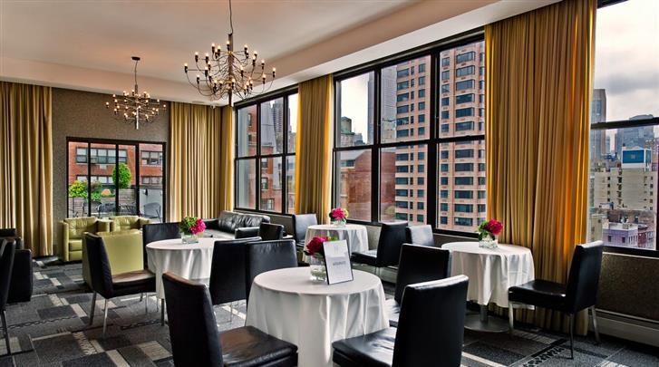 New York, Hotel The Marcel at Gramercy, Restaurant
