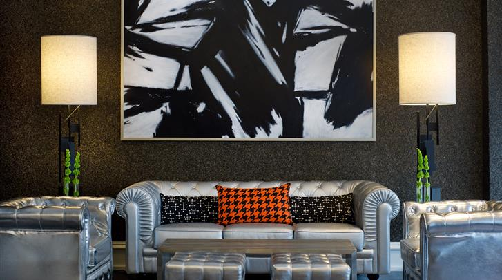 New York, Hotel The Moderne, Lobby