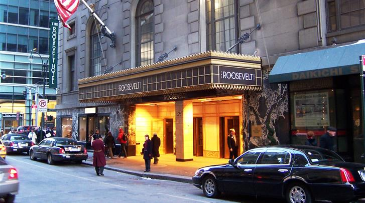 New York, Hotel The Roosevelt, Façade hotel
