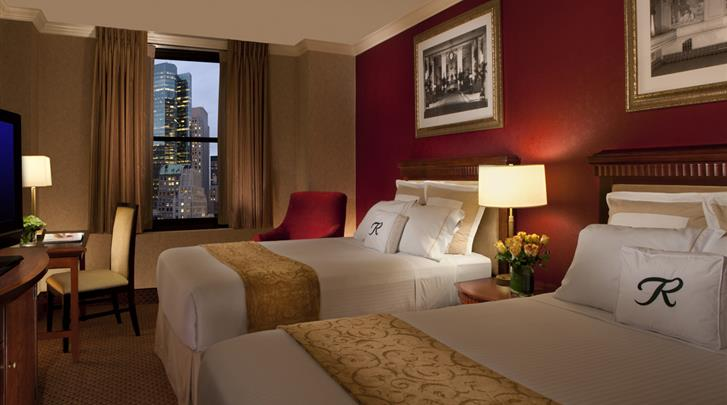 New York, Hotel The Roosevelt, Standaard kamer