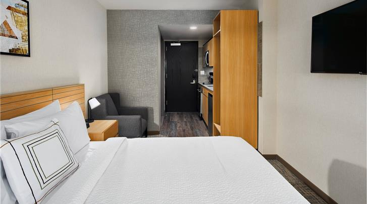 New York, Hotel Towneplace Suites New York Times Square, Standaard kamer