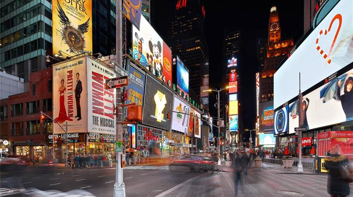 New York, Hotel Towneplace Suites New York Times Square, Times Square op 5 minuten lopen