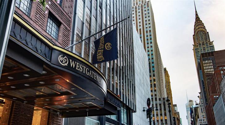 New York, Hotel Westgate New York Grand Central, Façade hotel