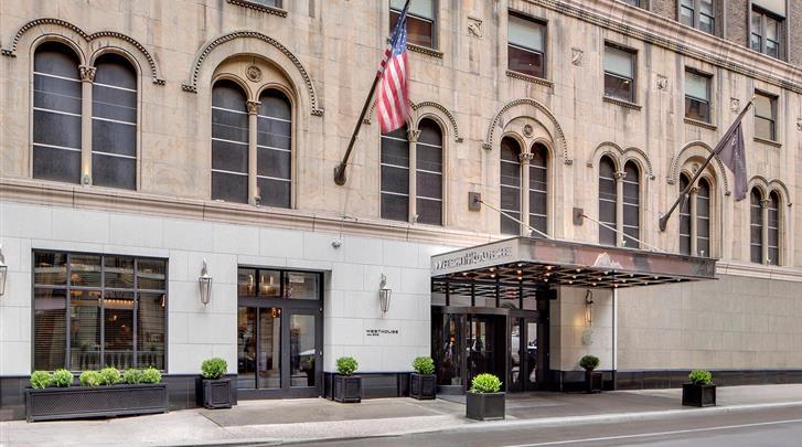 New York, Hotel WestHouse, Façade hotel