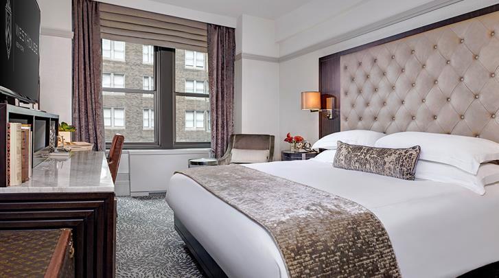 New York, Hotel WestHouse, Standaard kamer