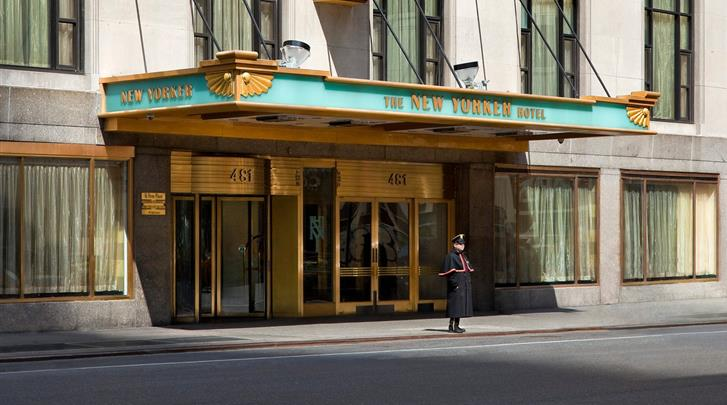 New York, The New Yorker, A Wyndham Hotel, Façade hotel