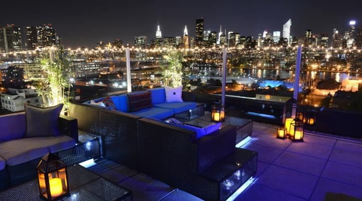 New York, Hotel Z NYC, Rooftop Bar