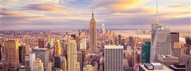 New York, New York uitzicht