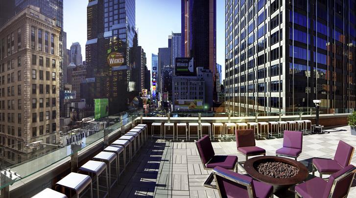 New York, Novotel New York Times Square, Dakterras