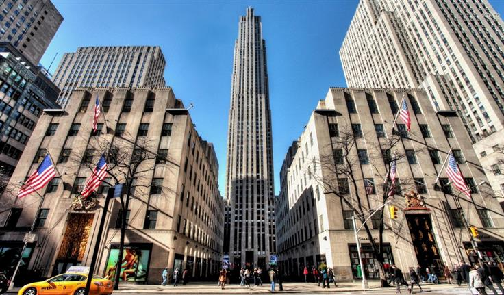 New York, Rockefeller Center