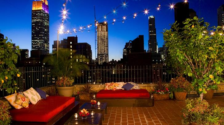New York, Shelburne NYC - an Affinia hotel, Dakterras