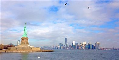 New York, Statue of Liberty & Ellis Island
