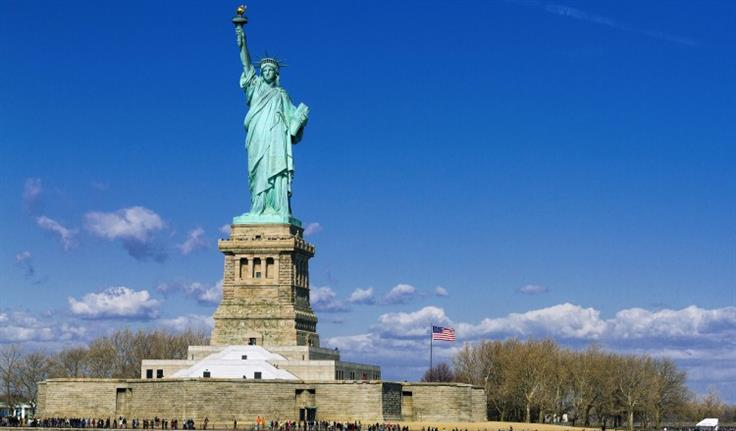 New York, Statue of Liberty & Ellis Island