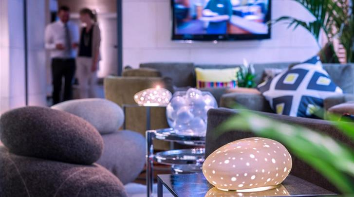 Nice, Hotel Beau Rivage, Lobby