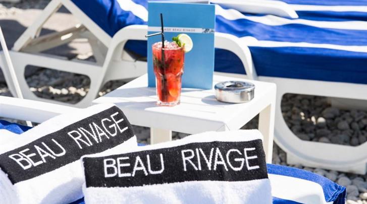 Nice, Hotel Beau Rivage, Sfeer