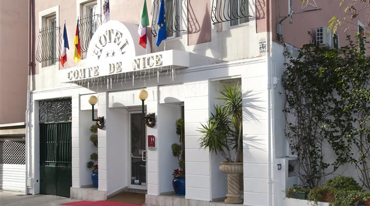 Nice, Hotel Comté de Nice, Façade hotel