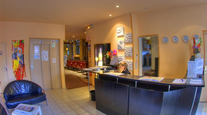 Nice, Hotel Comté de Nice, Receptie