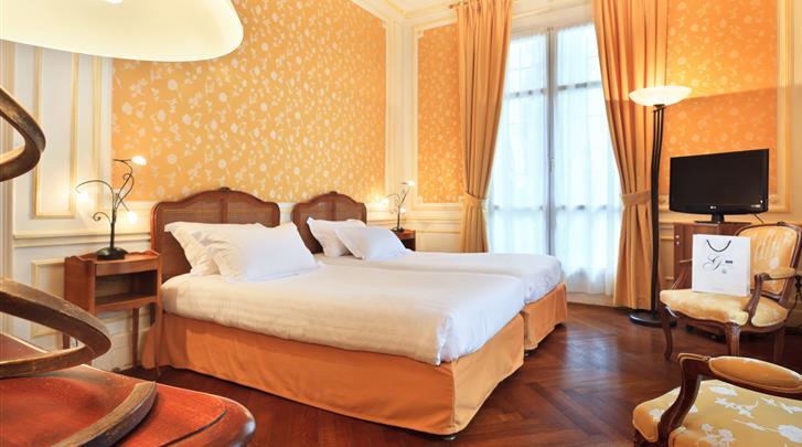 Nice, Hotel Gounod, Standaard kamer