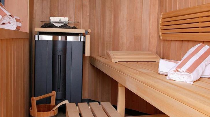 Nice, Hotel La Perouse, Sauna