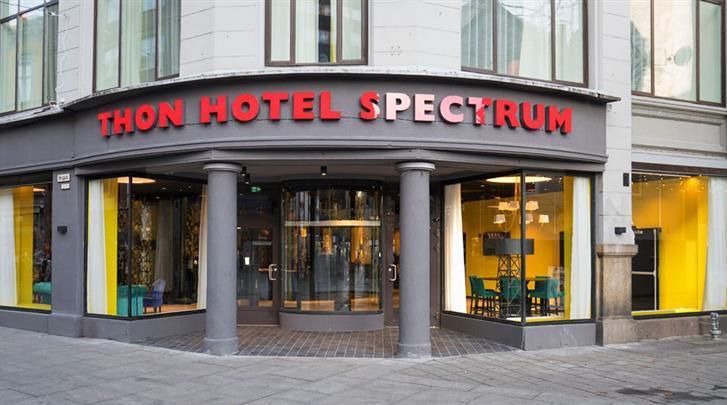 Oslo, Thon Hotel Spectrum, Façade hotel