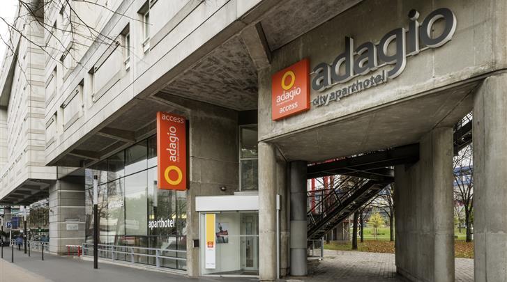 Parijs, Aparthotel Adagio Access Paris La Villette, Façade hotel