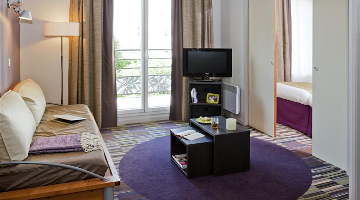 Parijs, Aparthotel Adagio Paris Buttes Chaumont, Appartement