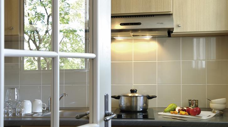 Parijs, Aparthotel Adagio Paris Montmartre, Studio keuken
