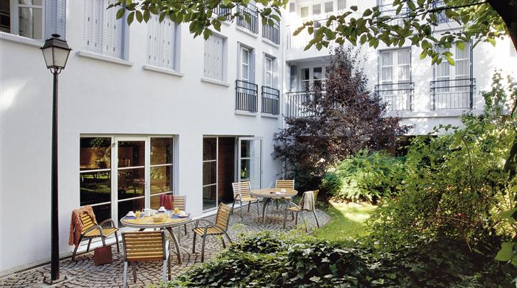 Parijs, Aparthotel Adagio Paris Montmartre, Terras