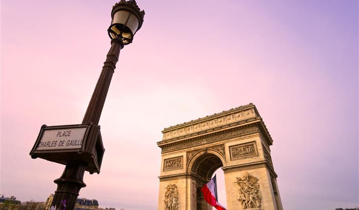 Parijs, Arc de Triomphe