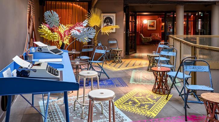 Parijs, Hotel 25hours Paris Terminus Nord, Lobby