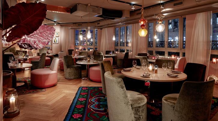 Parijs, Hotel 25hours Paris Terminus Nord, Restaurant