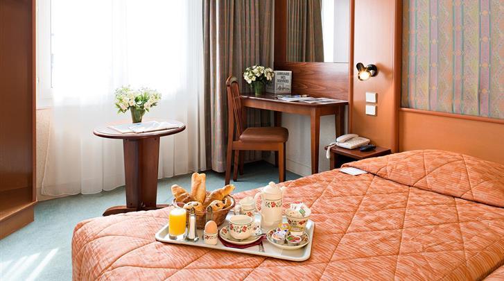 Parijs, Hotel Abrial, Standaard kamer