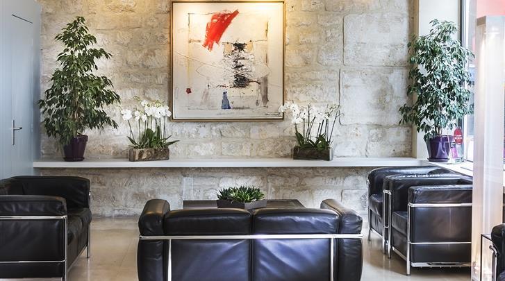 Parijs, Hotel Albe Saint Michel, Lobby