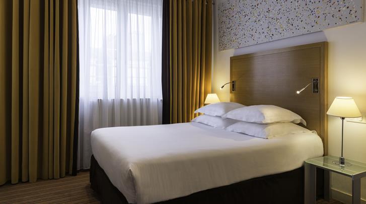 Parijs, Hotel Albe Saint Michel, Standaard kamer