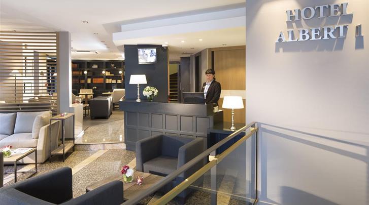 Parijs, Hotel Albert 1er, Lobby