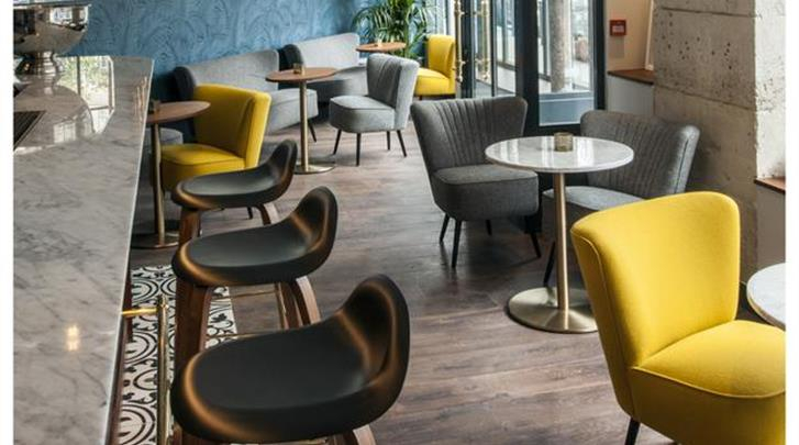 Parijs, Hotel Andre Latin, Hotel bar